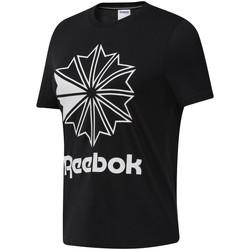 Υφασμάτινα Γυναίκα T-shirt με κοντά μανίκια Reebok Sport DT7219 Μαύρος