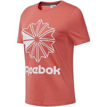 Υφασμάτινα Γυναίκα T-shirt με κοντά μανίκια Reebok Sport DT7223 Ροζ