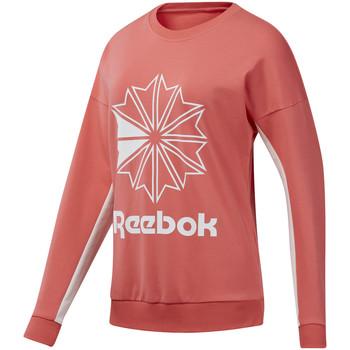 Υφασμάτινα Γυναίκα Φούτερ Reebok Sport DT7245 Ροζ