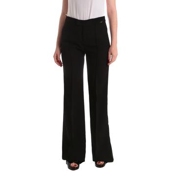 Υφασμάτινα Γυναίκα Παντελόνια κοστουμιού Liu Jo W19363T7982 Μαύρος