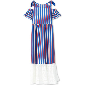 Υφασμάτινα Γυναίκα Μακριά Φορέματα Liu Jo F19228T2311 Μπλε