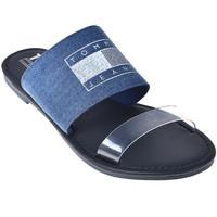 Παπούτσια Γυναίκα Τσόκαρα Tommy Hilfiger EN0EN00565 Μπλε
