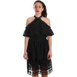 Υφασμάτινα Γυναίκα Κοντά Φορέματα Fracomina FR19SP539 Μαύρος