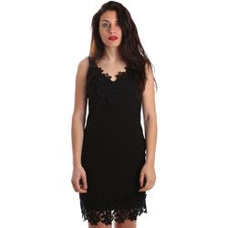 Υφασμάτινα Γυναίκα Κοντά Φορέματα Fracomina FR19SP024 Μαύρος