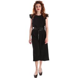 Υφασμάτινα Γυναίκα Ολόσωμες φόρμες / σαλοπέτες Fracomina FR19SP662 Μαύρος