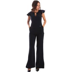 Υφασμάτινα Γυναίκα Ολόσωμες φόρμες / σαλοπέτες Fracomina FR19SP657 Μπλε