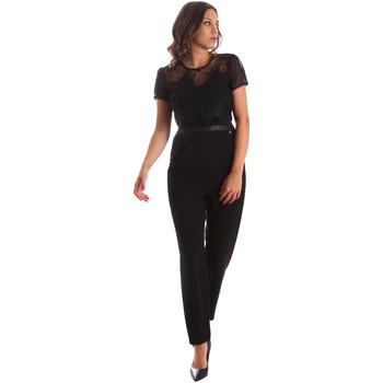 Υφασμάτινα Γυναίκα Ολόσωμες φόρμες / σαλοπέτες Fracomina FR19SP673 Μαύρος