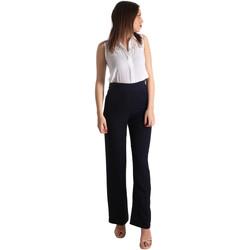 Υφασμάτινα Γυναίκα Ολόσωμες φόρμες / σαλοπέτες Fracomina FR19SP008 Μπλε