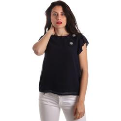 Υφασμάτινα Γυναίκα Μπλούζες Fracomina FR19SP567 Μπλε