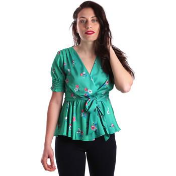 Υφασμάτινα Γυναίκα Μπλούζες Fracomina FR19SP474 Πράσινος