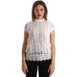 Υφασμάτινα Γυναίκα Μπλούζες Fracomina FR19SP521 λευκό