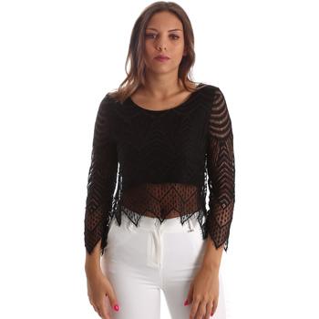Υφασμάτινα Γυναίκα Μπλούζες Fracomina FR19SP099 Μαύρος