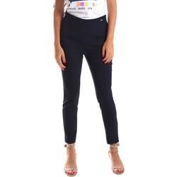 Υφασμάτινα Γυναίκα Παντελόνια Chino/Carrot Fracomina FR19SP133 Μπλε