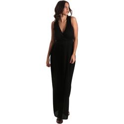 Υφασμάτινα Γυναίκα Μακριά Φορέματα Fracomina FR19SM673 Μαύρος