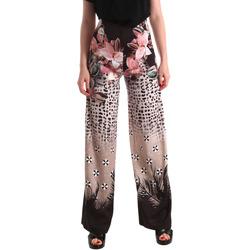 Υφασμάτινα Γυναίκα Παντελόνες / σαλβάρια Fracomina FR19SM014 Μαύρος