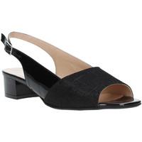 Παπούτσια Γυναίκα Σανδάλια / Πέδιλα Soffice Sogno E8113T Μαύρος