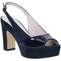 Παπούτσια Γυναίκα Σανδάλια / Πέδιλα Grace Shoes 679004 Μπλε