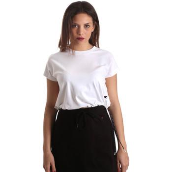 Υφασμάτινα Γυναίκα T-shirt με κοντά μανίκια Champion 111487 λευκό