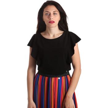 Υφασμάτινα Γυναίκα Μπλούζες NeroGiardini P962510D Μαύρος