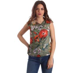 Υφασμάτινα Γυναίκα Μπλούζες NeroGiardini P962570D Πράσινος