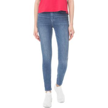 Υφασμάτινα Γυναίκα Skinny Τζιν  Superdry G70108DT Μπλε