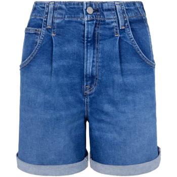 Υφασμάτινα Γυναίκα Σόρτς / Βερμούδες Pepe jeans PL800846GQ6 Μπλε
