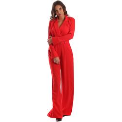 Υφασμάτινα Γυναίκα Ολόσωμες φόρμες / σαλοπέτες Byblos Blu 2WD0010 TE0012 το κόκκινο