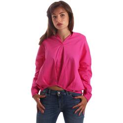 Υφασμάτινα Γυναίκα Πουκάμισα Byblos Blu 2WR0004 TE0014 Ροζ