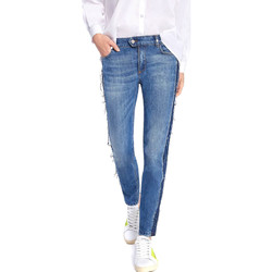 Υφασμάτινα Γυναίκα Skinny Τζιν  Byblos Blu 2WJ0004 TE0135 Μπλε