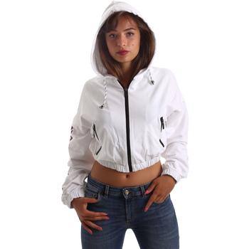 Υφασμάτινα Γυναίκα Φούτερ Byblos Blu 2WF0005 TE0042 λευκό