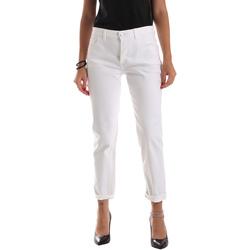 Υφασμάτινα Γυναίκα Skinny Τζιν  Byblos Blu 2WJ0011 TE0128 λευκό
