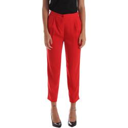 Υφασμάτινα Γυναίκα Παντελόνια Chino/Carrot Byblos Blu 2WP0002 TE0012 το κόκκινο