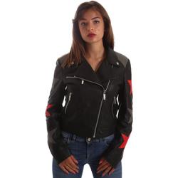Υφασμάτινα Γυναίκα Δερμάτινο μπουφάν Byblos Blu 2WS0002 LE0007 Μαύρος