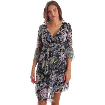 Υφασμάτινα Γυναίκα Κοντά Φορέματα Smash S1984413 Μαύρος