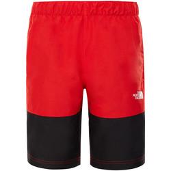 Υφασμάτινα Παιδί Μαγιώ / shorts για την παραλία The North Face T93NNH το κόκκινο