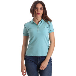 Υφασμάτινα Γυναίκα Πόλο με κοντά μανίκια  La Martina NWP002 PK001 Μπλε