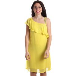 Υφασμάτινα Γυναίκα Κοντά Φορέματα Gaudi 911FD15011 Κίτρινος