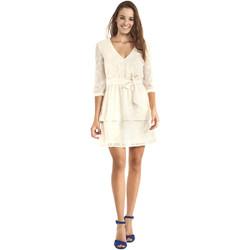 Υφασμάτινα Γυναίκα Κοντά Φορέματα Gaudi 911BD15005 Μπεζ