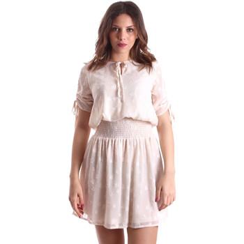 Υφασμάτινα Γυναίκα Κοντά Φορέματα Gaudi 911BD15006 Μπεζ