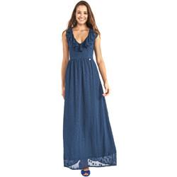 Υφασμάτινα Γυναίκα Μακριά Φορέματα Gaudi 911BD15007 Μπλε