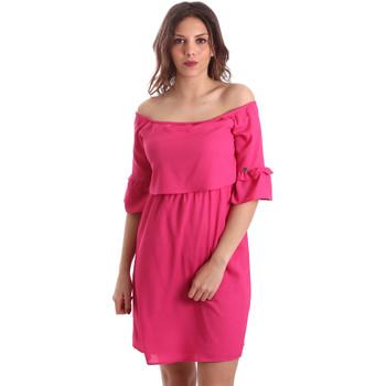 Υφασμάτινα Γυναίκα Κοντά Φορέματα Gaudi 911BD15015 Ροζ