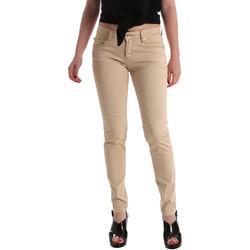 Υφασμάτινα Γυναίκα Skinny jeans Gaudi 911BD25010 Μπεζ