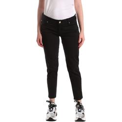 Υφασμάτινα Γυναίκα Skinny Τζιν  Gaudi 911BD25011 Μαύρος