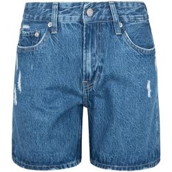 Υφασμάτινα Γυναίκα Σόρτς / Βερμούδες Pepe jeans PL800847GQ8 Μπλε