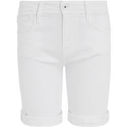 Υφασμάτινα Γυναίκα Σόρτς / Βερμούδες Pepe jeans PL800493TA2 λευκό