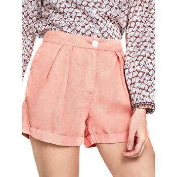 Υφασμάτινα Γυναίκα Σόρτς / Βερμούδες Pepe jeans PL800839 Πορτοκάλι