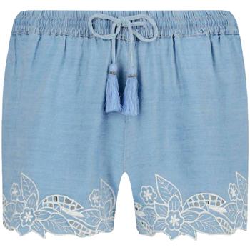 Υφασμάτινα Γυναίκα Σόρτς / Βερμούδες Pepe jeans PL800838 Μπλε