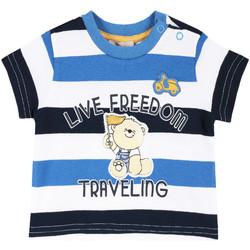 Υφασμάτινα Παιδί T-shirt με κοντά μανίκια Chicco 09006664000000 λευκό