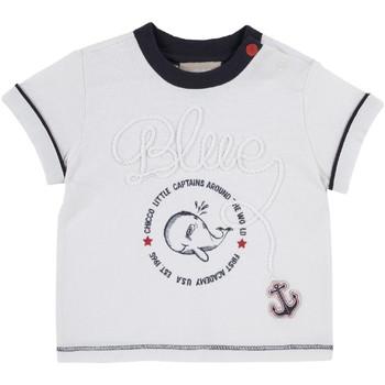 Υφασμάτινα Παιδί T-shirt με κοντά μανίκια Chicco 09006679000000 λευκό