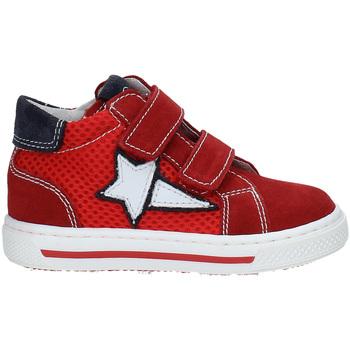 Παπούτσια Παιδί Ψηλά Sneakers NeroGiardini P923450M το κόκκινο